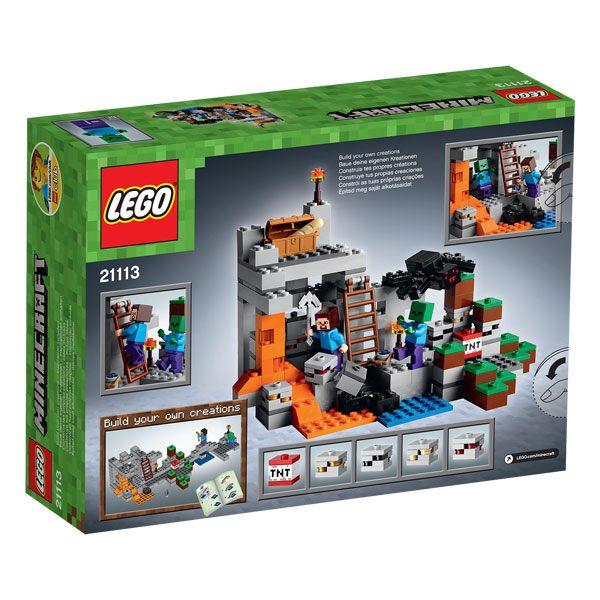 21113 lego minecraft la grotte lego king jouet lego. Black Bedroom Furniture Sets. Home Design Ideas