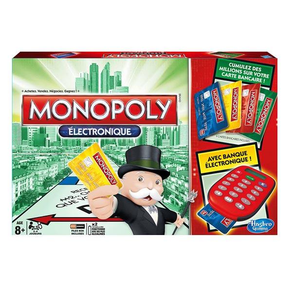 Hasbro  Monopoly Electronique  Nouvelle version  Bourse des jouets neufs