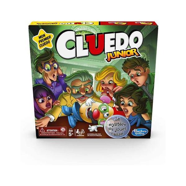 cluedo junior hasbro gaming : king jouet, jeux de réflexion hasbro
