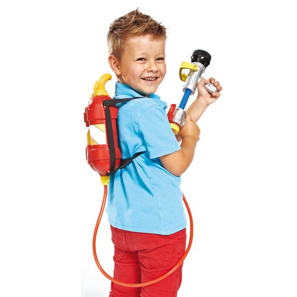 Pistolet eau recharge dorsal sam le pompier smoby king - Sam le pompier personnages ...