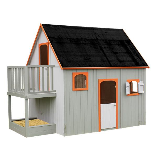 maison bois duplex soulet king jouet maisons tentes et autres soulet sport et jeux de. Black Bedroom Furniture Sets. Home Design Ideas