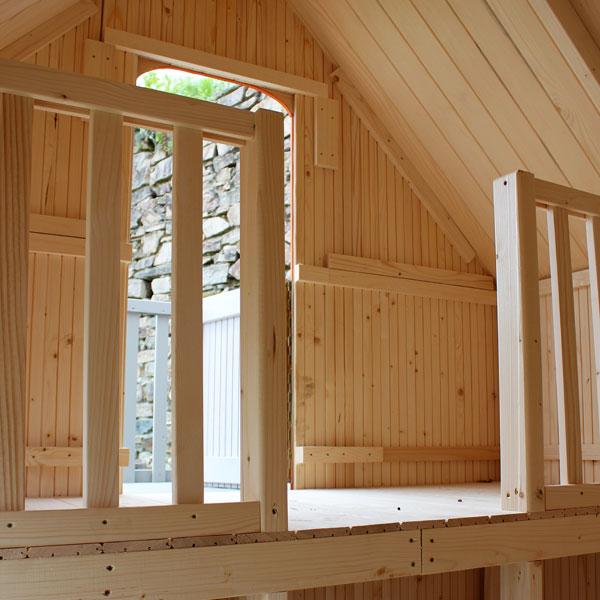 maison bois duplex soulet king jouet maisons tentes et. Black Bedroom Furniture Sets. Home Design Ideas