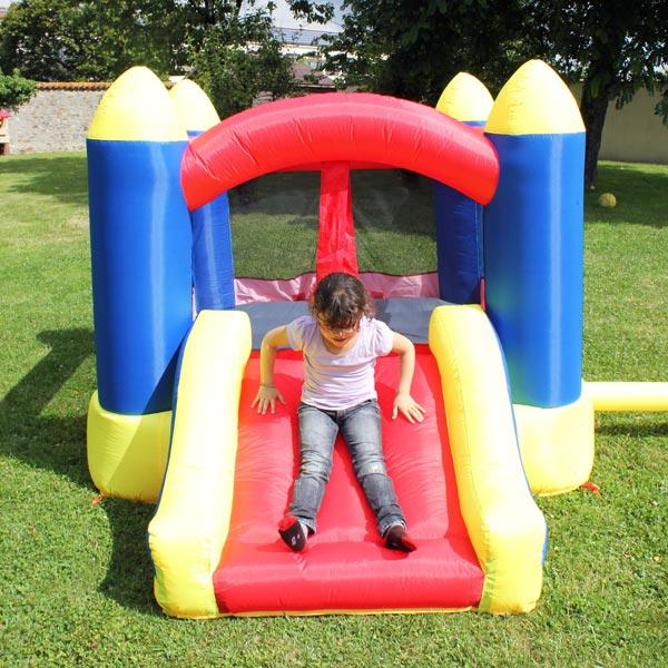 Ch teau gonflable wallis soulet king jouet portiques toboggans soulet sport et jeux de - Toboggan king jouet ...