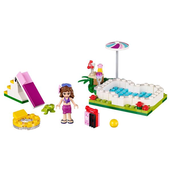 41090 lego friends la piscine d 39 olivia lego king jouet. Black Bedroom Furniture Sets. Home Design Ideas