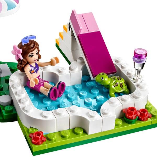 41090 lego friends la piscine d 39 olivia lego king jouet for Piscina lego friends