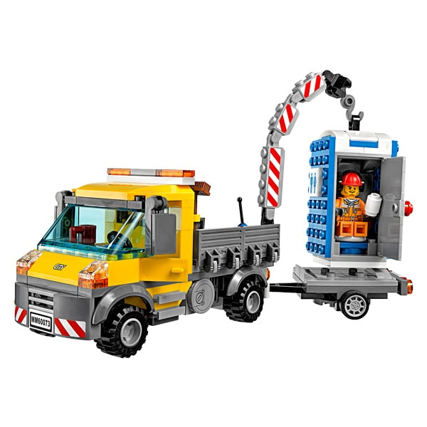 60073 lego city le camion grue lego king jouet lego planchettes aut - Jeux de grue de construction gratuit ...