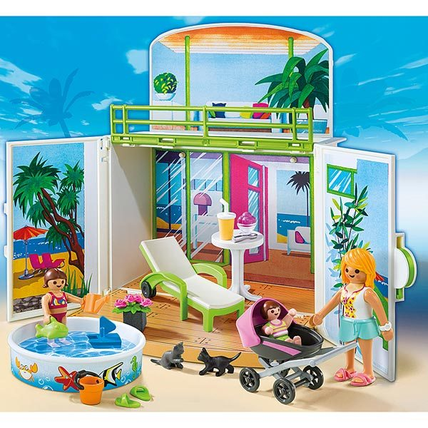 PLAYMOBIL® 6159 Coffre Terrasse de vacances  Playmobil  UNIGRO.be
