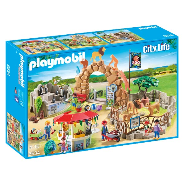 6634 grand zoo playmobil king jouet playmobil playmobil jeux d 39 imitation mondes imaginaires. Black Bedroom Furniture Sets. Home Design Ideas