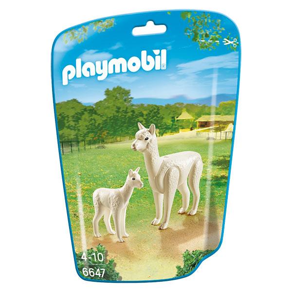 Playmobil 6647  City Life : Alpaga et son petit Sans marque  Magasin de