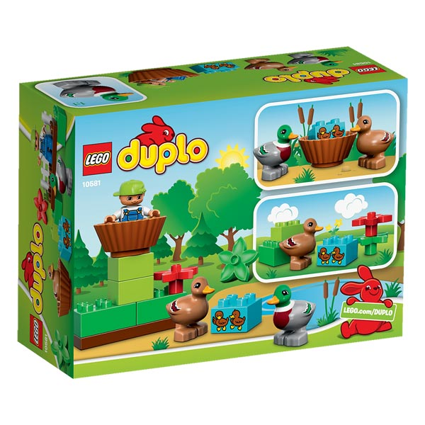 10581 les canards lego duplo de lego. Black Bedroom Furniture Sets. Home Design Ideas