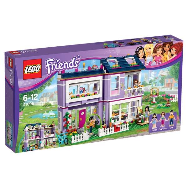 41095 lego friends maison d 39 emma lego king jouet lego planchettes autres lego jeux de. Black Bedroom Furniture Sets. Home Design Ideas
