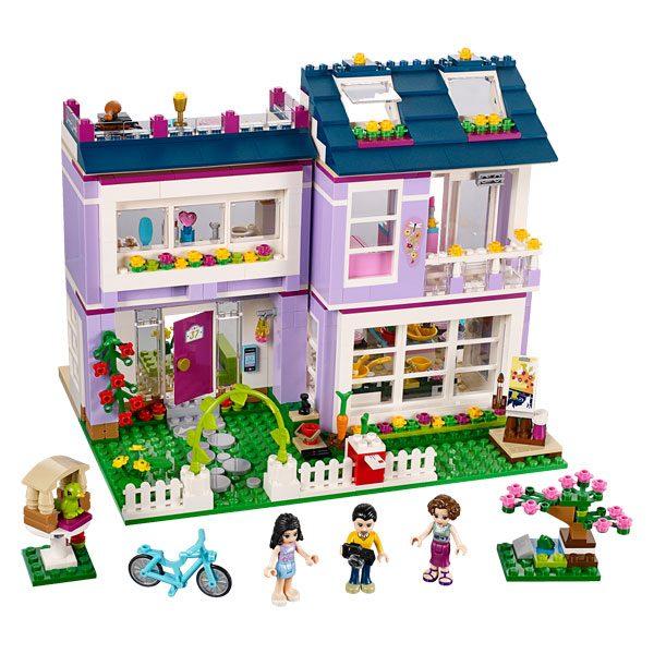 41095 lego friends maison d 39 emma lego king jouet lego planchettes autres lego jeux de - Maison de fille ...