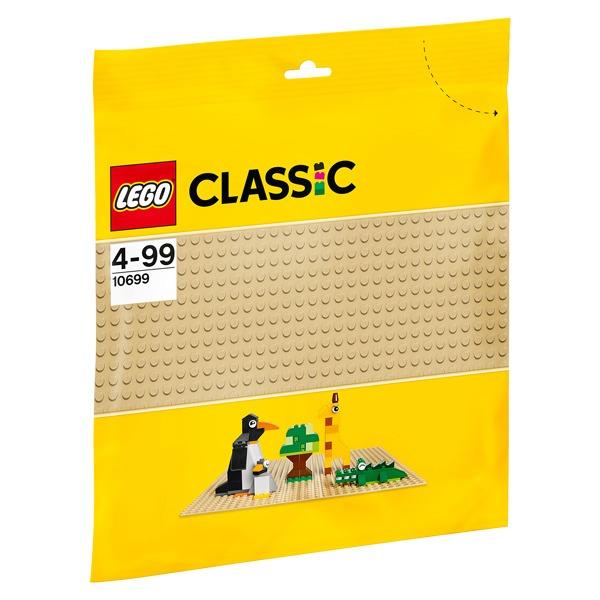 Que tu crées une plage, un zoo, un désert ou une construction que tu imagines, cette plaque de base 32x32 de couleur sable est le point de départ parfait pour construire, exposer et jouer avec tes créations LEGO Cette plaque de base sable LEGO Classic est