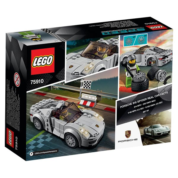 75910 porsche 918 spyder lego king jouet lego. Black Bedroom Furniture Sets. Home Design Ideas