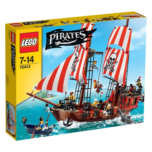 70413 le bateau pirate lego king jouet lego. Black Bedroom Furniture Sets. Home Design Ideas