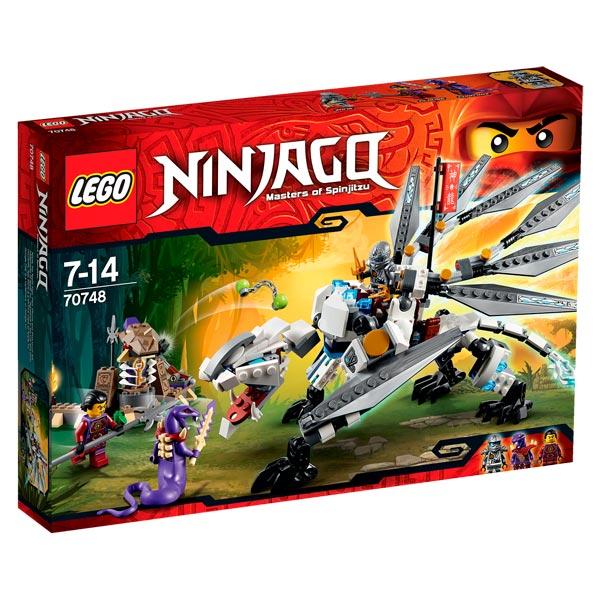 70748 lego ninjago dragon titane