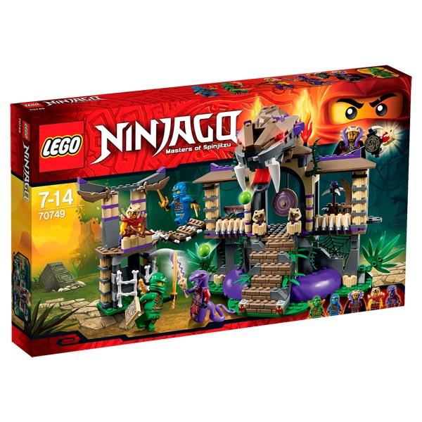 LEGO Ninjago 70749 pas cher  Le temple Anacondra