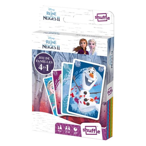 Jeu de 7 familles frozen france cartes king jouet jeux - Jeu reine des neige gratuit ...