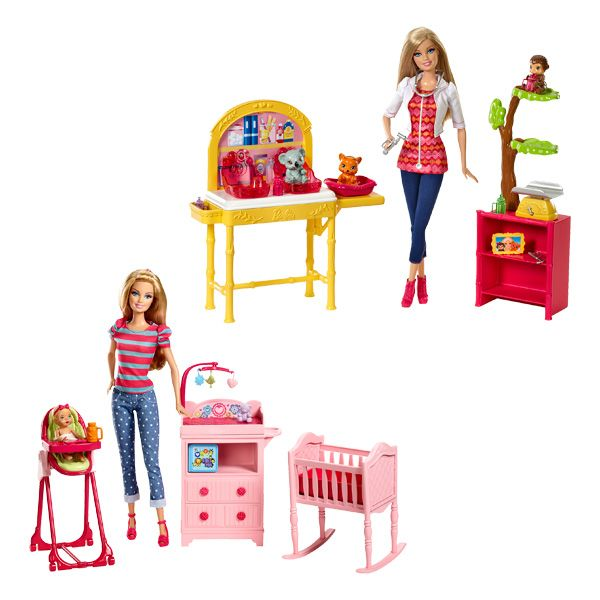 Barbie coffret metier de mattel - Barbie veterinaire ...
