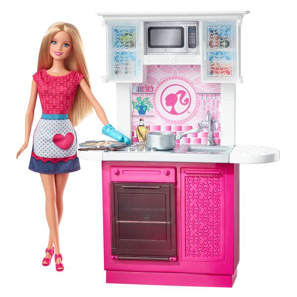 Cuisine barbie de mattel for Cuisine king jouet