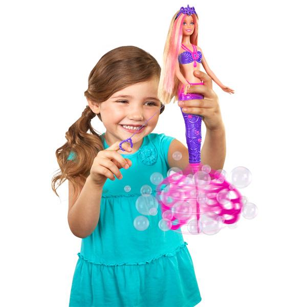 Barbie sir ne bulles magiques mattel king jouet poup es mannequin mattel poup es peluches - Barbie barbie sirene ...