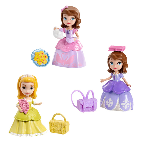 figurines princesse sofia de mattel. Black Bedroom Furniture Sets. Home Design Ideas