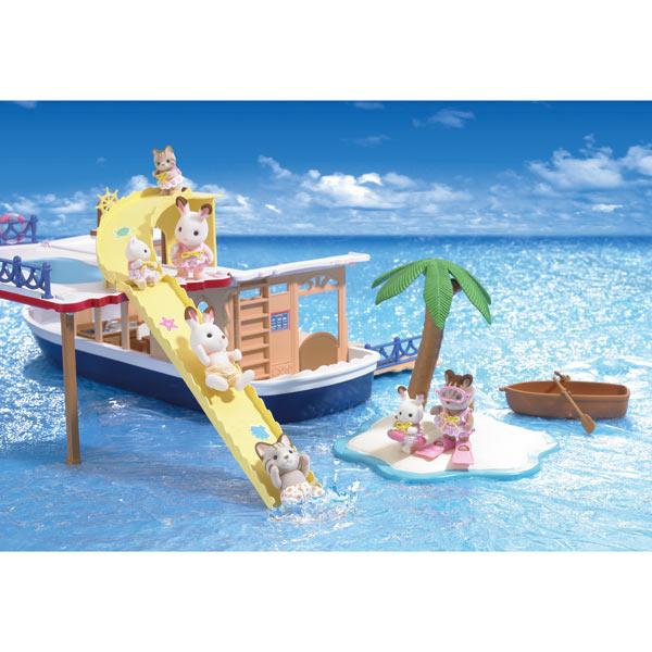 Sylvanian bateau de croisi re sylvanian families king for Store bateau pas cher