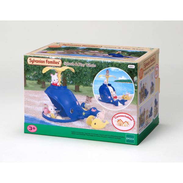 Sylvanian bac sable baleine sylvanian families king jouet figurines et cartes - Bac a sable bebe ...