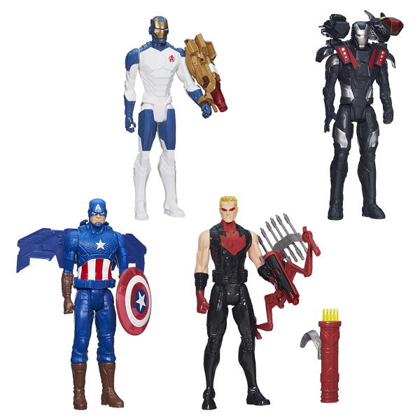 avengers figurine 30 cm et accessoires lumineux hasbro king jouet figurines et cartes. Black Bedroom Furniture Sets. Home Design Ideas
