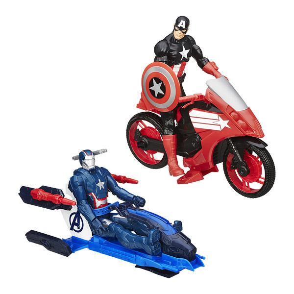avengers figurine 30 cm et v hicule hasbro king jouet figurines et cartes collectionner. Black Bedroom Furniture Sets. Home Design Ideas