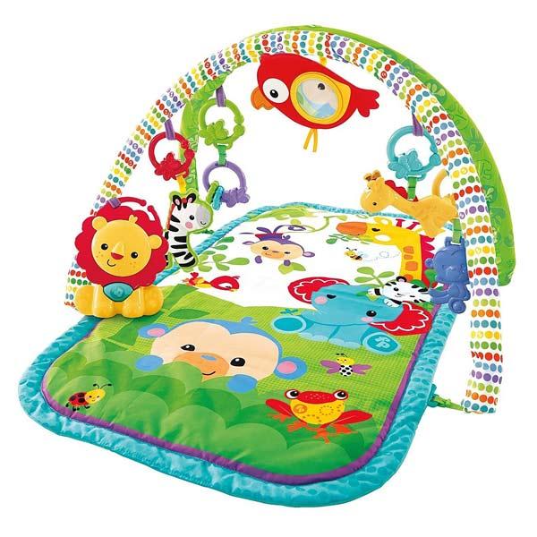 tapis veil amis de la jungle 3 fisher price king jouet. Black Bedroom Furniture Sets. Home Design Ideas