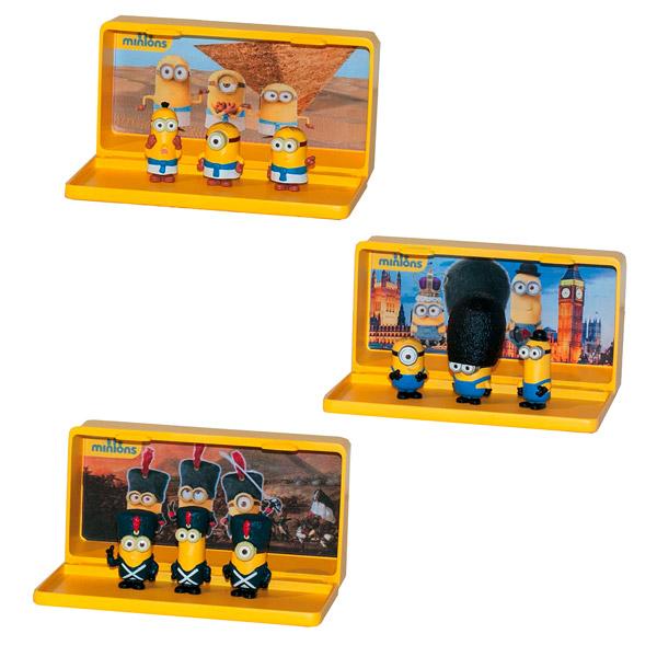 Les Minions-lot de 3 Figurines