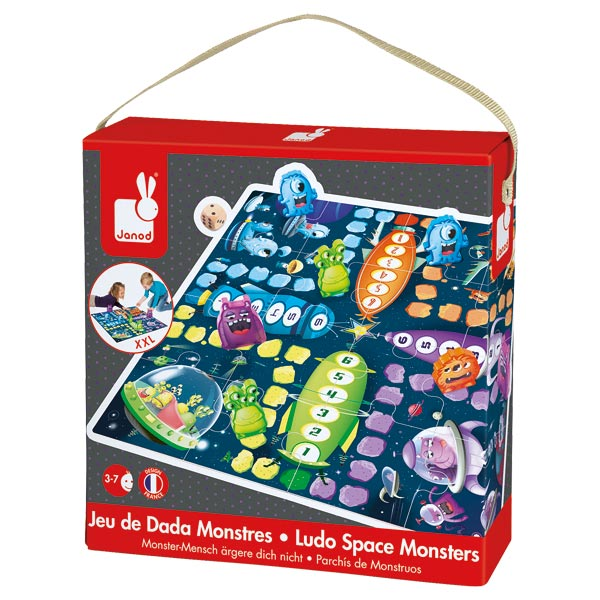 jeu ludo space monsters. Black Bedroom Furniture Sets. Home Design Ideas