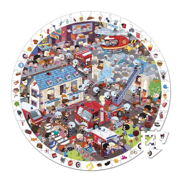 Puzzle observation Pompiers 208 pièces