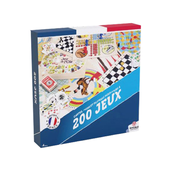 Coffret 200 jeux pour Tous