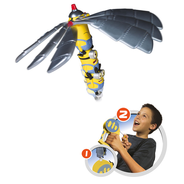 Flying Heroes Minions Bandai : King Jouet, Figurines et cartes à collectionner