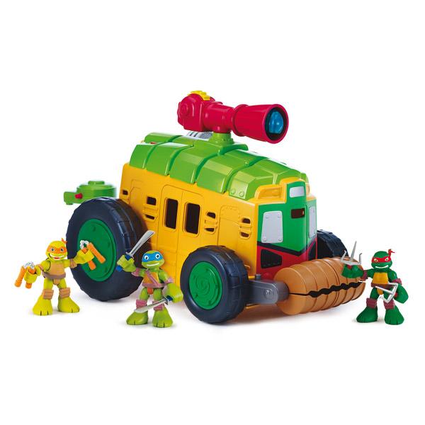 Tortue ninja v hicule de combat et figurine 6 cm giochi for Repere des tortue ninja