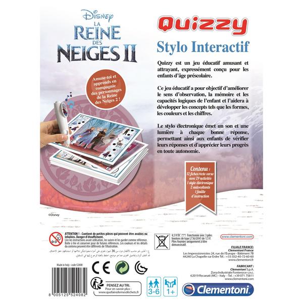 Quizzy - Reine des Neiges 2
