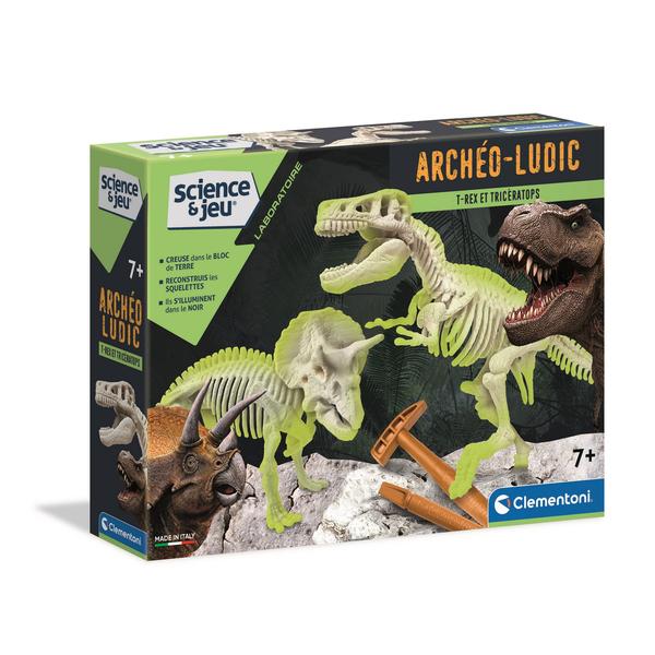 Archéo Ludic - T-rex et Tricératops