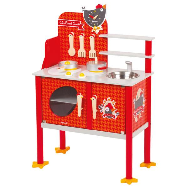 cuisine en bois king jouet. Black Bedroom Furniture Sets. Home Design Ideas