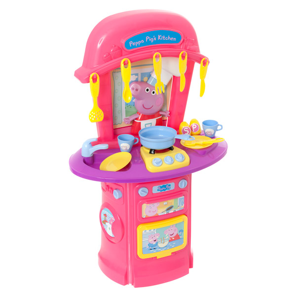 Ma premi re cuisine peppa pig logitoys king jouet for Cuisine king jouet