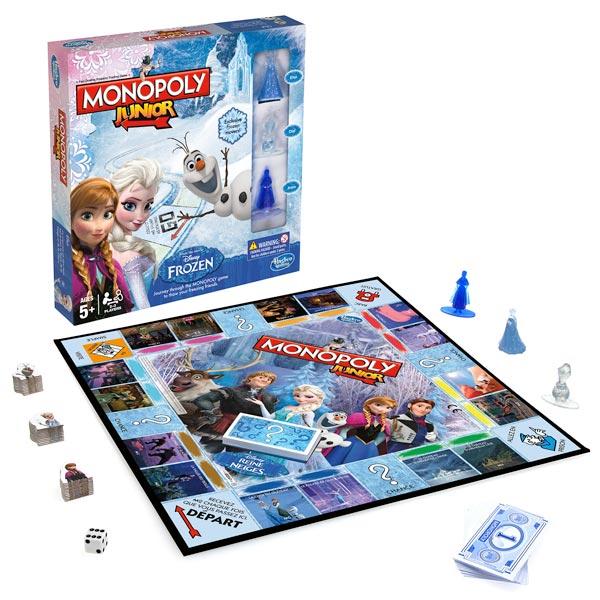 monopoly reine des neiges hasbro king jouet jeux de hasard et parcours hasbro jeux de soci t. Black Bedroom Furniture Sets. Home Design Ideas