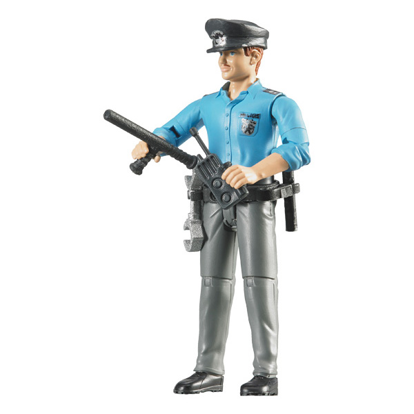 figurine policier de bruder. Black Bedroom Furniture Sets. Home Design Ideas