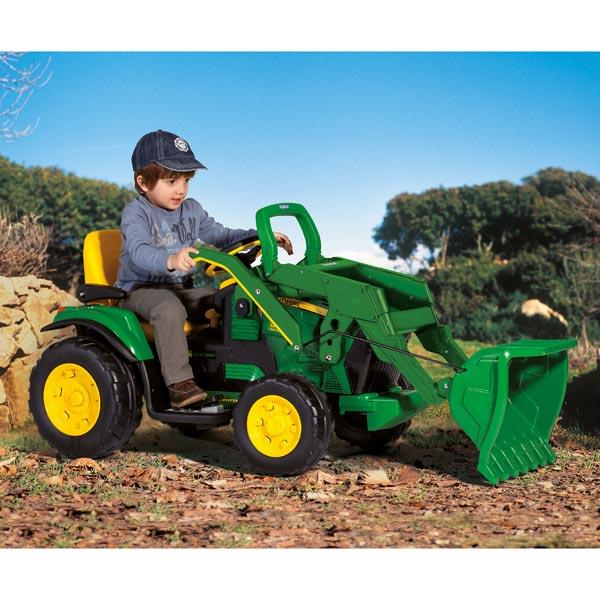 tracteur john deere loader peg perego king jouet voitures pdales peg perego sport et jeux de plein air - Tracteur John Deere Enfant