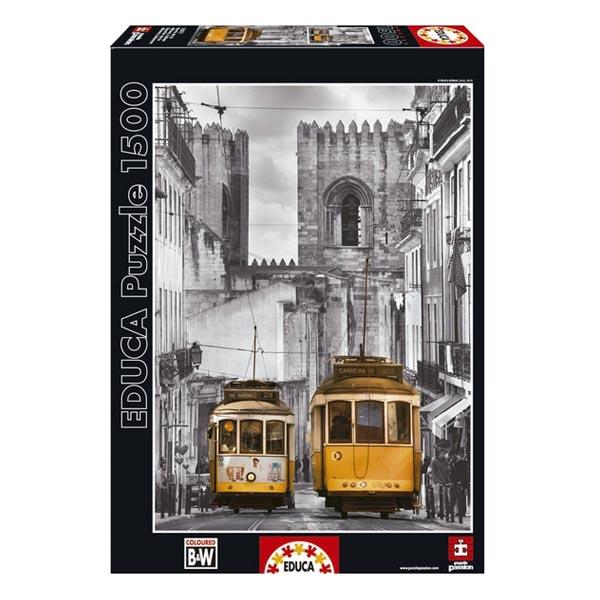 Puzzle 1500 pièces quartier de la Alfama Lisbonne