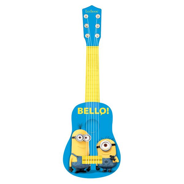 guitare minions lexibook king jouet jouets musicaux lexibook m diath que jeux vid os. Black Bedroom Furniture Sets. Home Design Ideas