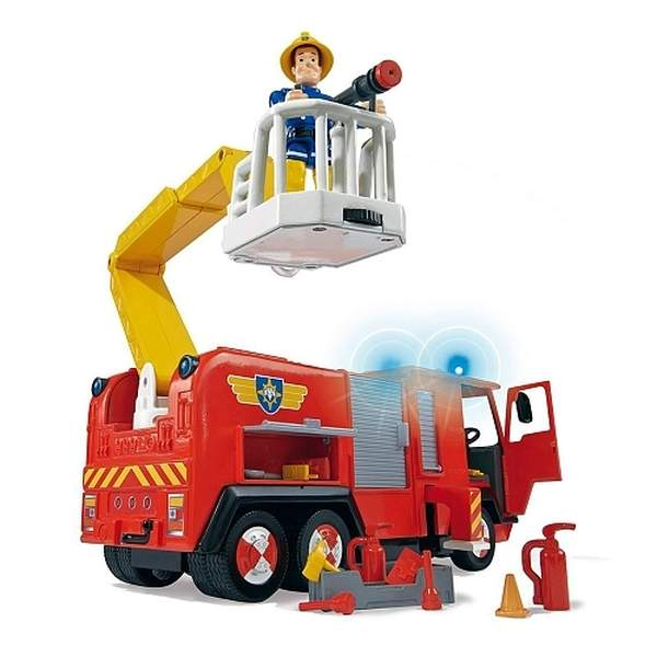 camion de pompier jupiter sam le pompier 1 figurine smoby king jouet les autres v hicules. Black Bedroom Furniture Sets. Home Design Ideas