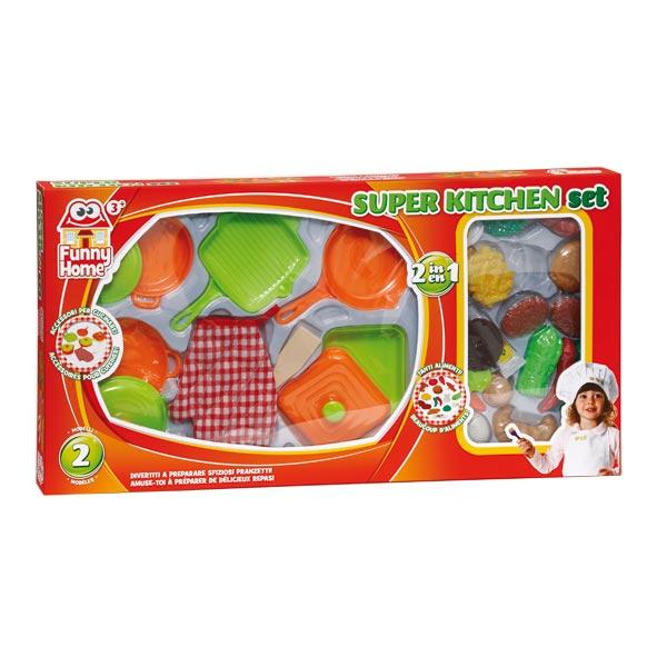 Accessoires cuisine et aliments funny home king jouet for Cuisine king jouet