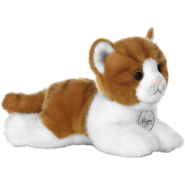 Peluche Chat Couché 20 cm