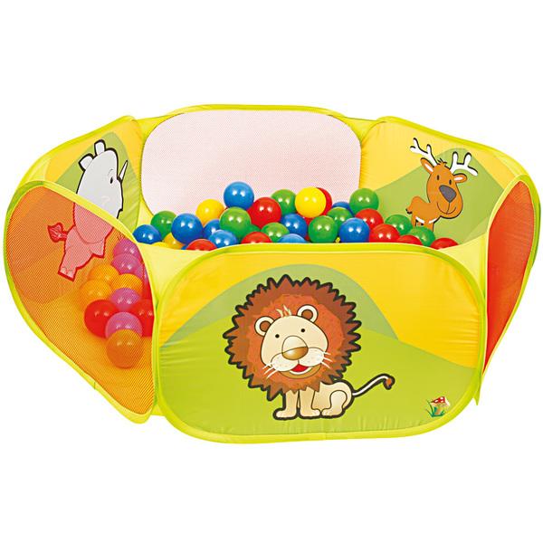 parc pop up avec 50 balles baby smile king jouet activit s d 39 veil baby smile jeux d 39 veil. Black Bedroom Furniture Sets. Home Design Ideas